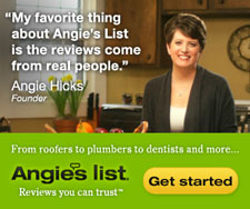 Find contractors with Angie's List